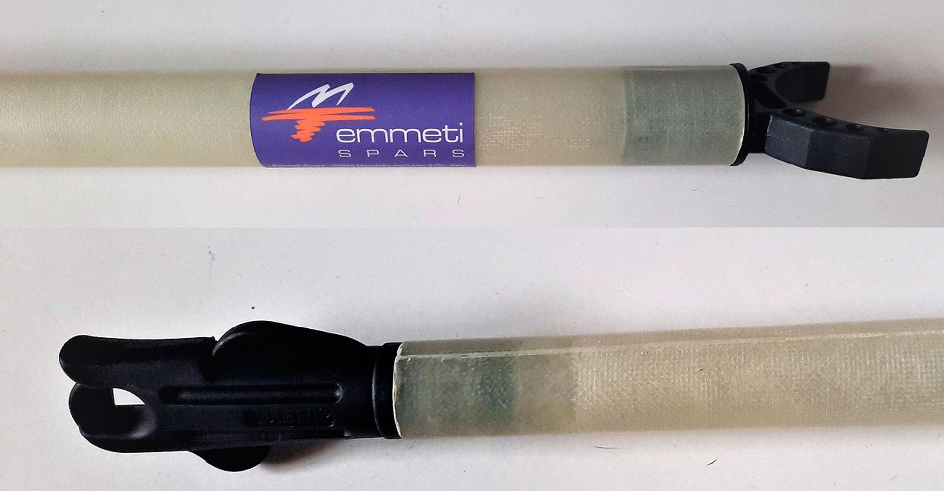 Art 304 – Tangone in fibra di vetro costruito a stampo, peso 0,95 kg